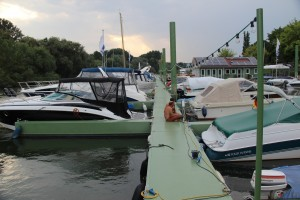 Steganlage Bootshaus Haupt