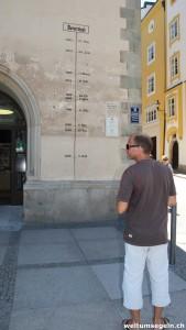 Passau Hochwasserstand
