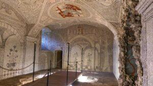 Schloss Greinburg Sala Terrena