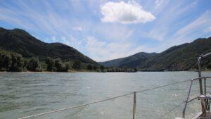 Donau mit 8km Strömung