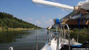 Main-Donau-Kanal gerade