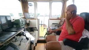 Captain multitasking