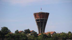 Einschusslöcher Wasserturm