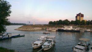 Hafen Vukovar mit Tiefgangprobleme
