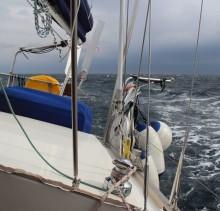Marmara Meer leicht bewegt