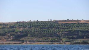 Ankern in den Dardanellen (Canakkale)