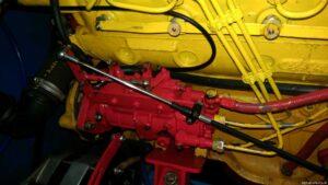 Ersatz Dieseleinspritzpumpe eingebaut