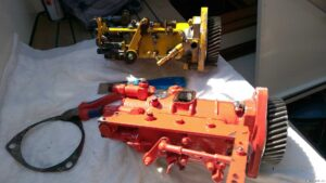 Dieseleinspritzpumpe defekt (verunreinigter Diesel)