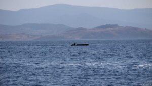 Flüchtlingsboot leer