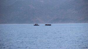 Flüchtlingsboot mit priv. Hilfe