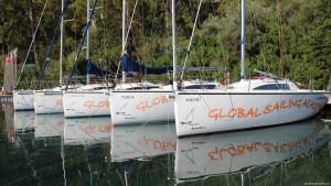 Segelschule Flotte