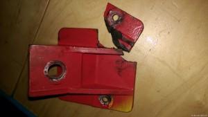Motorensockel gebrochen