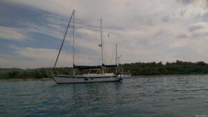 Bucht Cleopatra Ankerstimmung